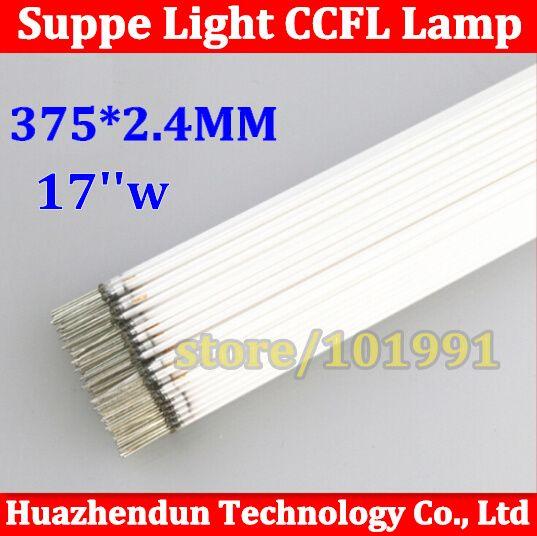 "40pcs High Quality Free Shipping  Supper Light CCFL 375 mm * 2.5/2.4 mm 17""  Wide LCD Backlight Lamp 50pcs/lot #Affiliate"
