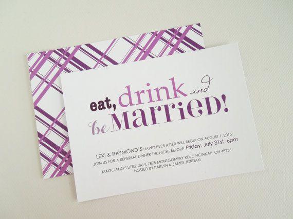 Die 13 besten Bilder zu Wedding Party Invitations auf Pinterest
