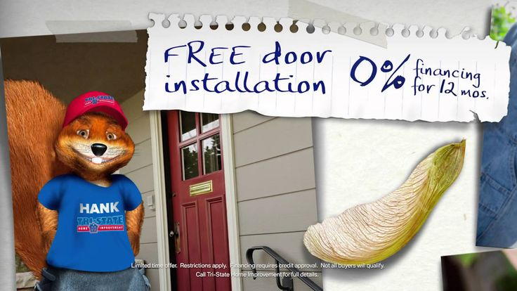 A beautiful new door is a great way to give your home a new look! Now at Tri-State, purchase a Therma-Tru door and your installation is free!