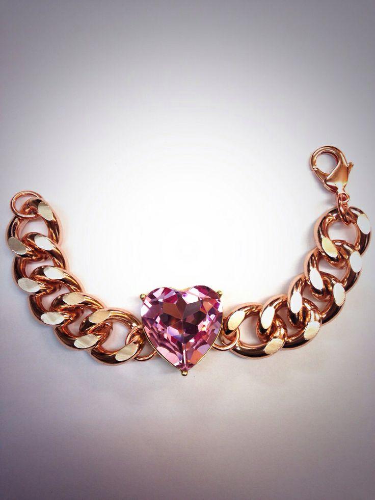 MAXI CHAIN color oro rosa
