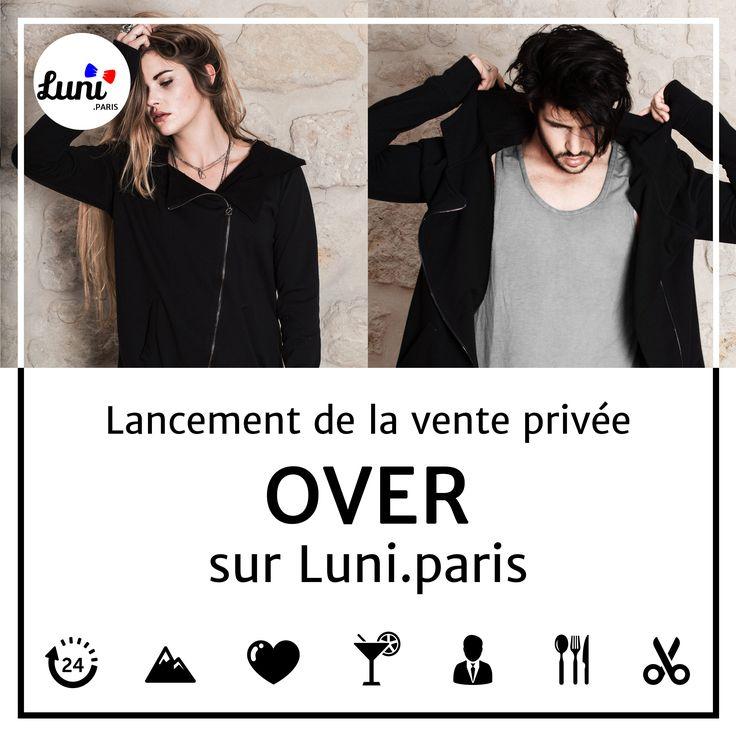 C'est parti, Luni.paris est en ligne depuis vendredi. Notre site Vente Privée Made In France a vu le jour.  Nous sommes très heureux de vous faire découvrir cette semaine notre marque mixte OVER (100% Made In France ) pour l'occasion des tarifs exceptionnels :)  #MadeInFrance #mode #femme #homme #vestiaire #gilet #sweat #tshirt #tendance #fashion #style #streetwear #lookcasual #vêtements #venteprivee