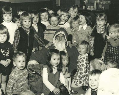 Wilsden Playgroup Christmas Party, December 1974