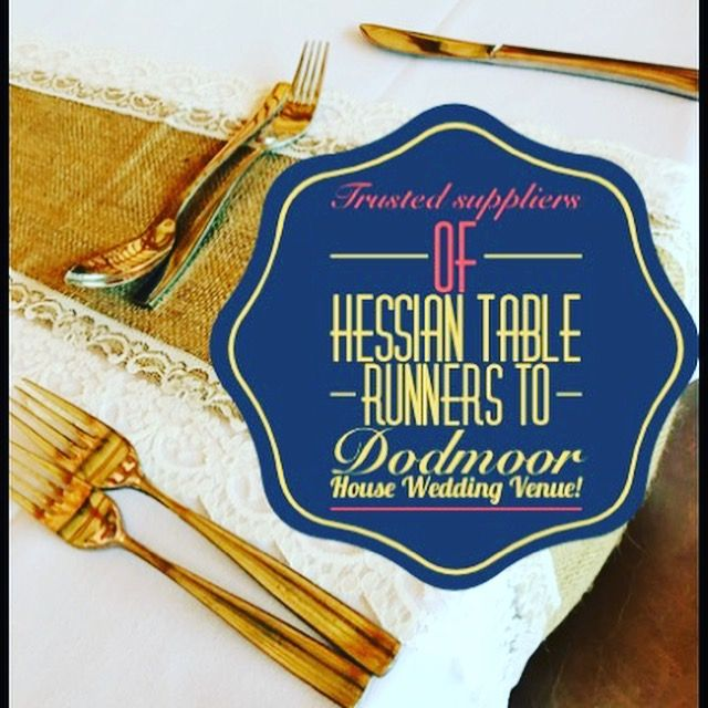 Little Wishes Hire - Trusted Supplier to Dodmoor House Wedding Venue Northants - Wedding Hire, Hessian and Lace Table Runners, Light Up Letters, Wedding Games