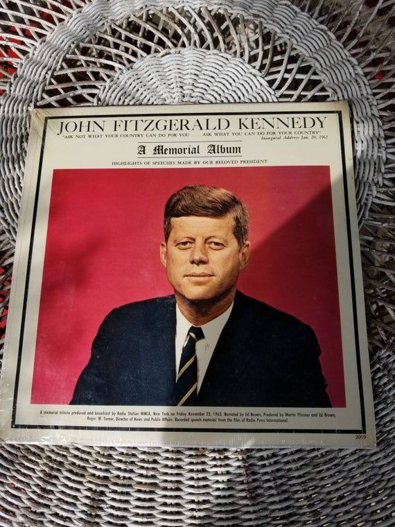 John Fitzgerald Kennedy A Memorial Album New Never Opened