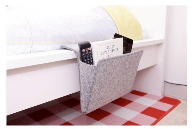 This bedside caddy to hold all your books and snacks. | Can You Get Through This Post Without Spending $50?