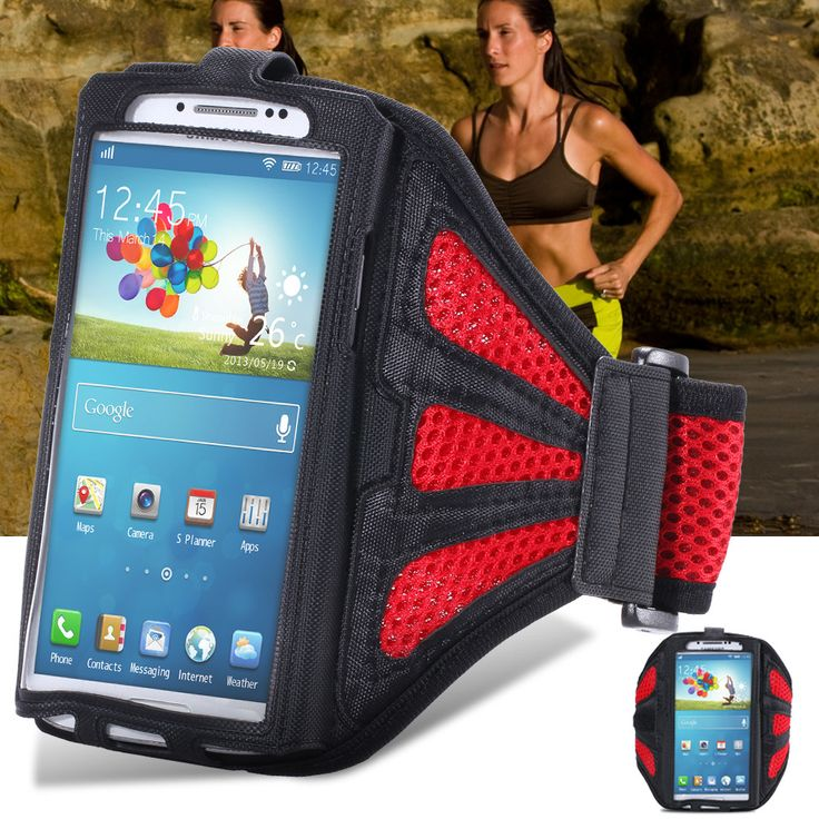 Black Waterproof Jogging Gym Sports Armband Mobile Phone Case Cover For Samsung Galaxy S5 I9600 SV S4 I9500 SIV S3 I9300 SIII