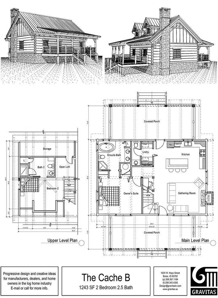 Small house and cabin plans
