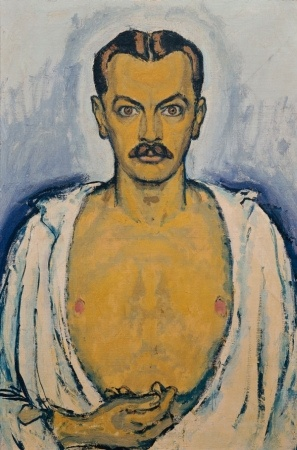 1916 Self Portrait Kolomon Moser