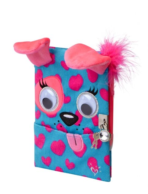 Plush Dog Pocket Diary | Girls Journals & Writing Room, Tech & Toys | Shop Justice