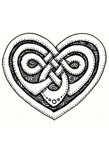 Расклад на любовь для Таро «Кельтское Сердце»