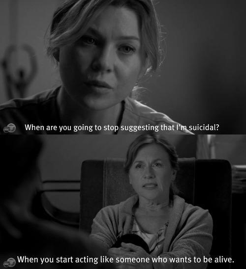 Suicidal Mer. | Grey's Anatomy | Pinterest | Anatomy ...