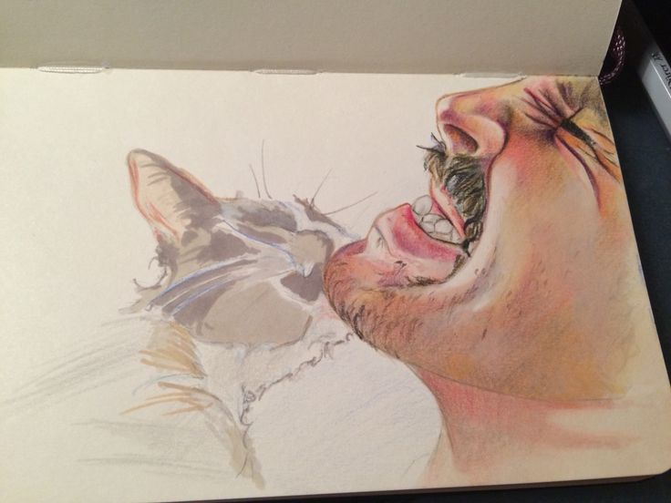 Ouch! It's not my idea, but I'm just testing my new pencils ;)