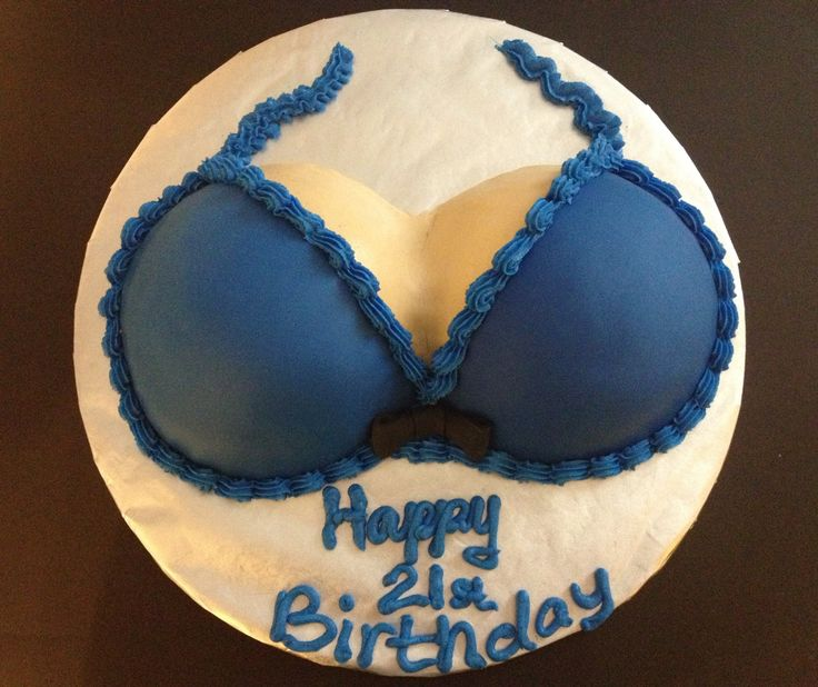 Simple Boob Cake This Is Almost Exactly What I Got For My