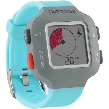 The Time Timer Watch Plus, Small, Sky Blue
