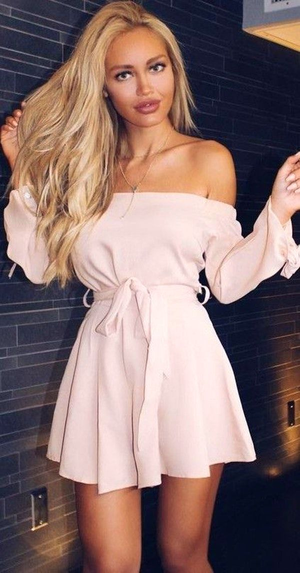 #summer ##flawless #Outfits | Pink Playsuit