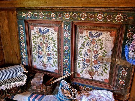 Russian style of a decor of an interior becomes more and more popular last years, and not only in Russia, but also abroad.