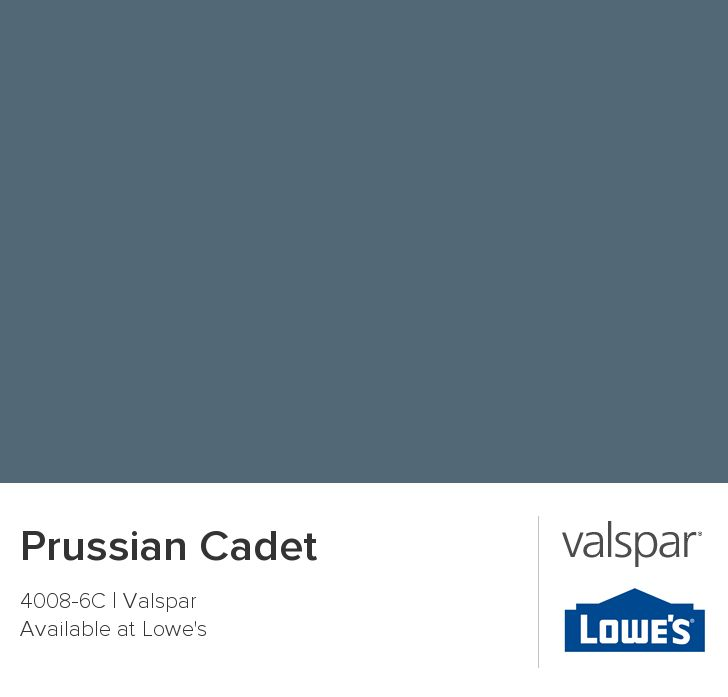 Cadet Blue Paint From Lowes