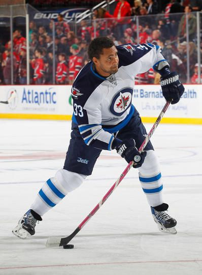 Dustin Byfuglien #33 Winnipeg Jets
