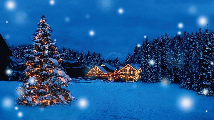 1920x1080 px Hermoso regalo de navidad vacaciones feliz Santa
