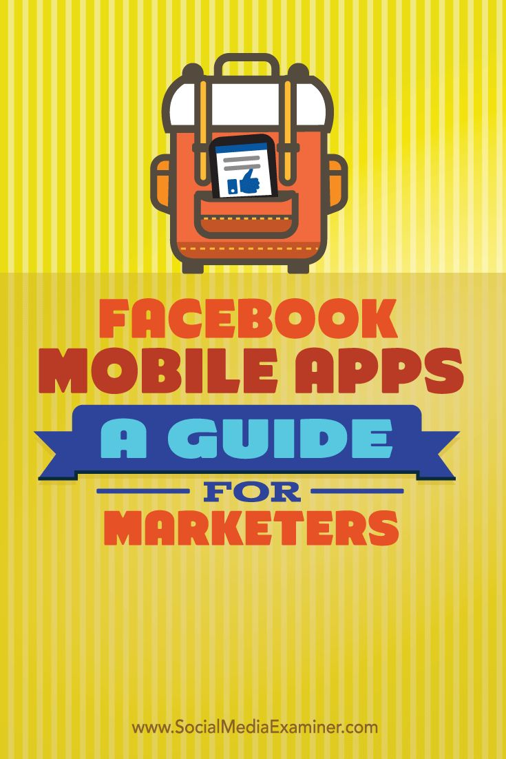 Do you manage your Facebook marketing on the go?  Facebook mobile apps make it easier than ever for marketers to manage their pages and respond to customers in real time from their mobile device.  In this article, you'll discover the key things marketers need to know about using Facebook mobile apps. Via @smexaminer.