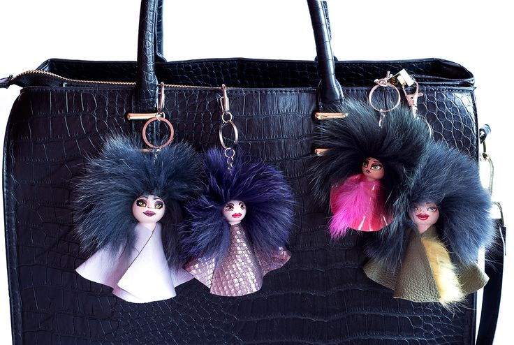 dolls army #everbrildolls #bagcharm #dollcharm #handmade #unique #recycledmaterials not #bugbag or #furmonster #furdolls