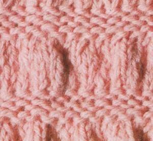 I punti del lavoro a maglia: punto arricciato; punto tela; punto spina di pesce