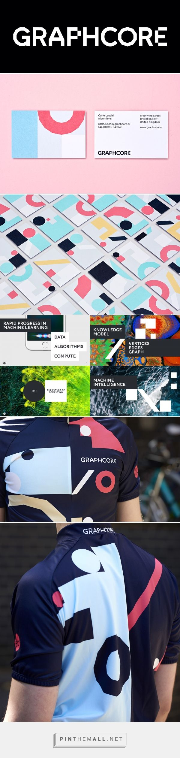 Brand New: New Logo and Identity for Graphcore by Pentagram... - a grouped images picture - Pin Them All