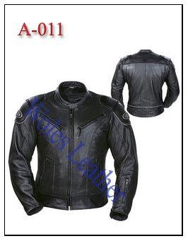 Jaket kulit pria model racing; Material: 100% Kulit domba asli; Aksesoris: Ykk original