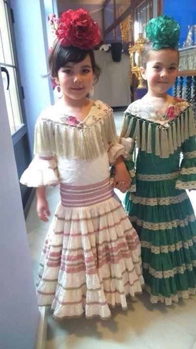 Me fascinan las flamenquitas de Carmen Acedo