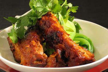 Korean sticky pork spare ribs