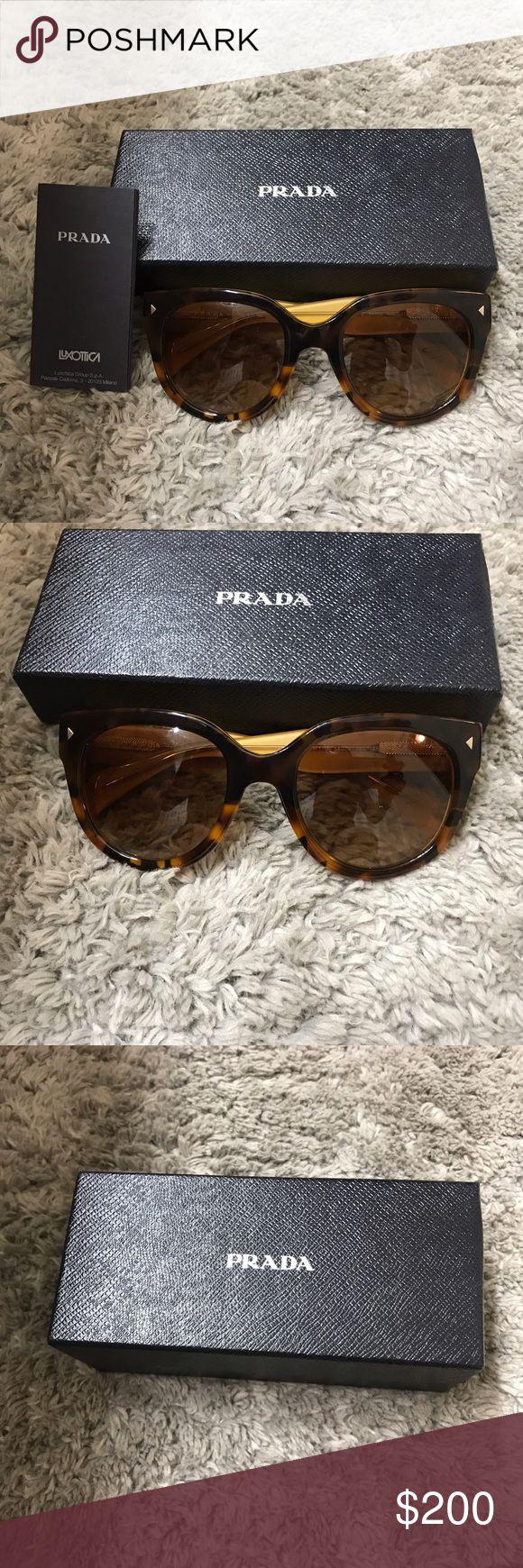 Prada tortoise sunglasses  authentic gently loved Prada tortoise sunglasses  Prada Accessories Sunglasses