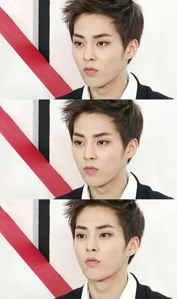 EXO - Xiumin, woah he's hot, how can one person be so hot and cute at the same time?!