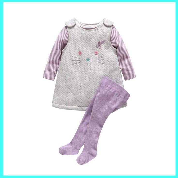 2016 Новое Прибытие Модные хлопок Девочка Одежда для новорожденных детское платье