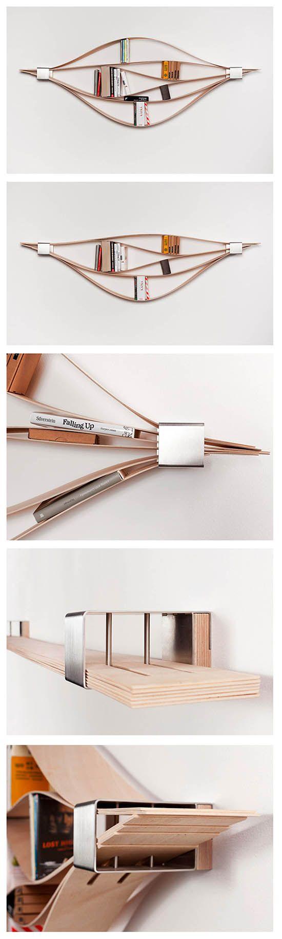 flexible bookrack