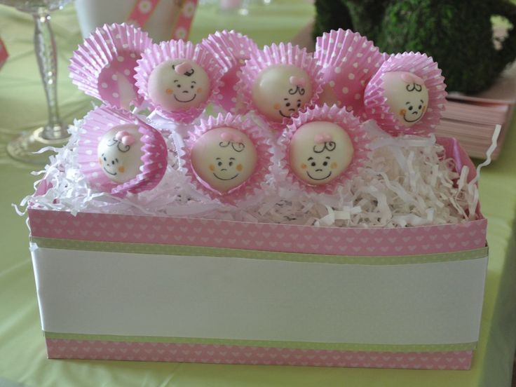 girl baby shower cake pops baby shower pinterest