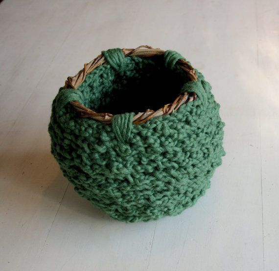 Embrace: Textile Art Vessel by Megan Walsh-Cheek (green) from the exhibition 'Little Layers of Happy' for SALA