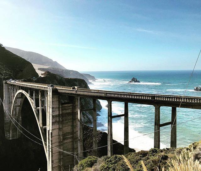 Pacific Heights 🌊 . . . . . . . . . #bigsur #highwayone #bixbycreekbridge #usa #roadtrip #ocean #pacific #california #coastline #travel #trip #chad #jeep #goldenstate #tb #calocals - posted by Alex Bowen https://www.instagram.com/alexmsbowen - See more of Big Sur, CA at http://bigsurlocals.com