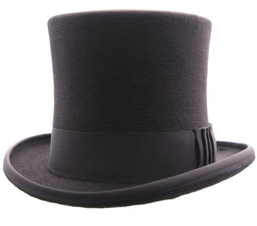 Top Hat. The first top hat was worn by the haberdasher John Hetherington in 1797