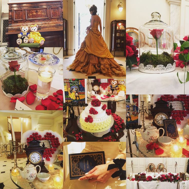 beauty and the beast wedding inspirations.