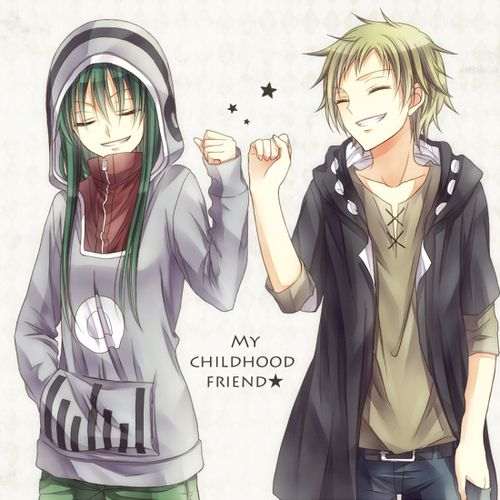 Best Friends Forever Boy And Girl Anime Www Imgkid Com Anime Friends Boy And