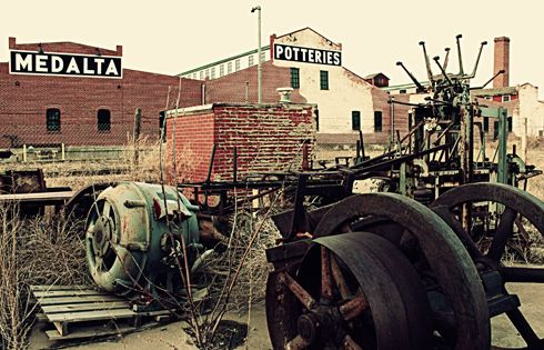 Machinery at Medalta Potteries | Editing Luke