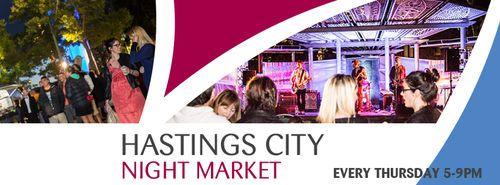 Hastings City Night Market - Valentine's Themed Market