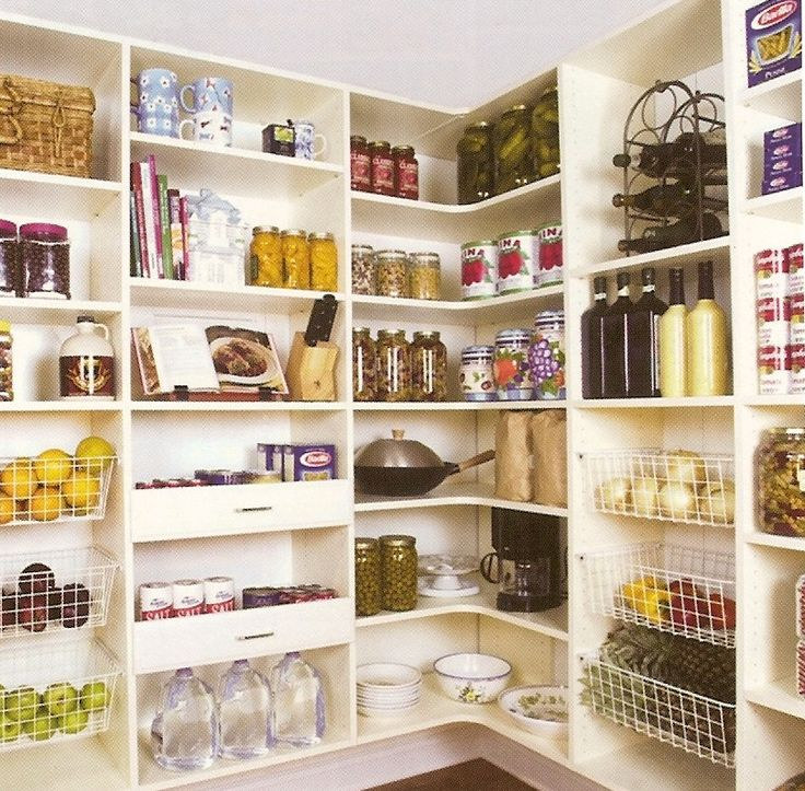 Kitchen Organization Ideas Small Spaces: Food Storage System - Small Spaces Storage Ideas