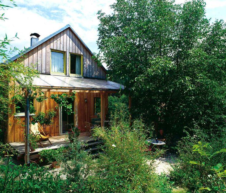 12 best Blockhaus images on Pinterest Wooden cottage, Gable roof - cottage garten deko