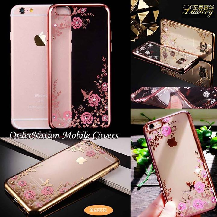 Rs. 999 (Cash on delivery)  Luxury Electroplated Flowral Soft Case For Smart Phones  Available Models:   #Samsung: Note 4 Note 5 S5 S6 S6 Edge S6 Edge Plus S7 S7 Edge S7 Edge Plus  #iPhone 5 5s 6 6s 6plus 6s Plus  Available Colors:  Golden & Rose Gold With Pink Flowers How to place order:  - Inbox us on Facebook - Whatsapp us : 03064744465 Website:http://ift.tt/1QAGIru - http://ift.tt/1MNMhRR