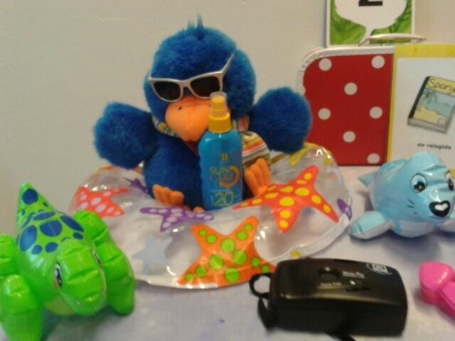 Wat moet Raai allemaal meenemen als hij op vakantie gaat?