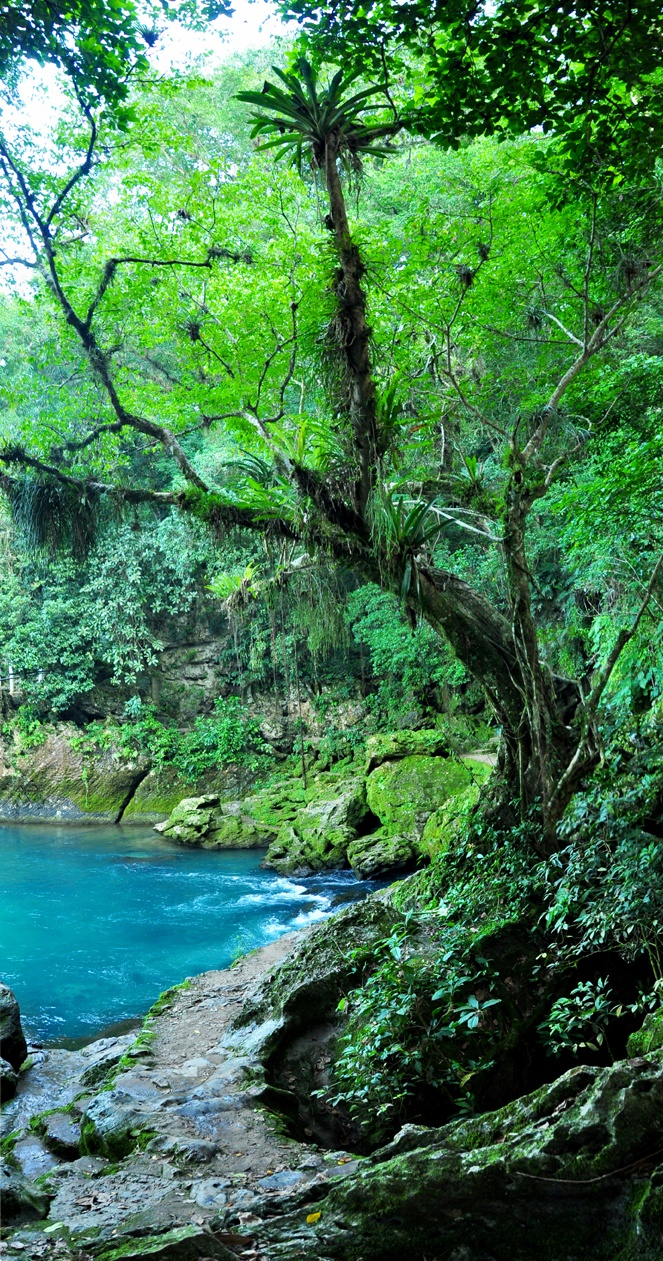 Nacimiento de Huichihuayan, México. A fantastic place to know, swim and take some pictures together with the local people