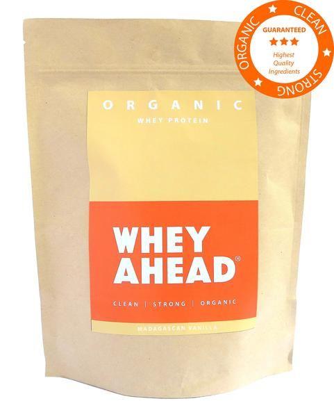 Madagascan Vanilla Organic Whey Protein Powder Pouch