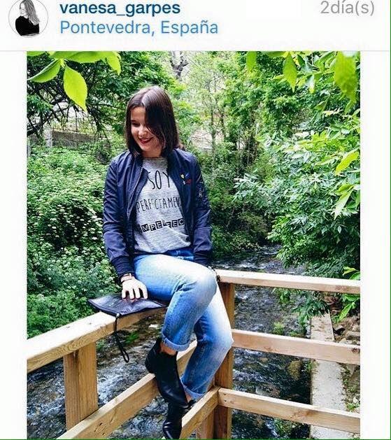 Gracias a la blogger Vanesa_garpes, look básico con nuestra camiseta de moda, Soy Perfectamente Imperfecta