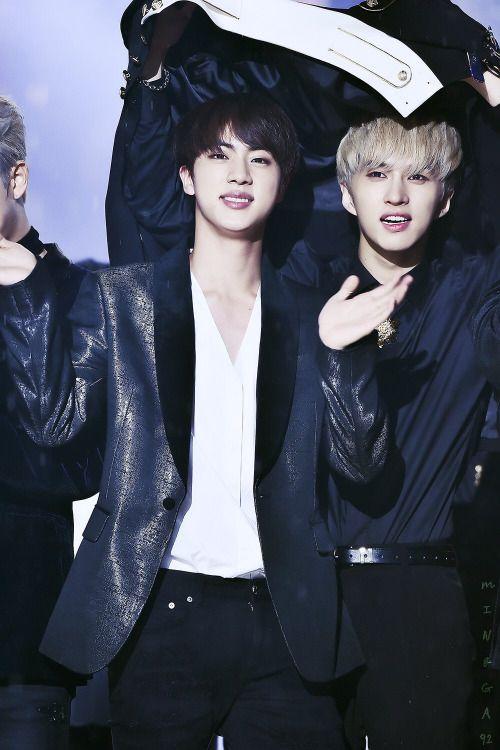 """Jin BTS & Ken VIXX """" © 밍까   Editing allowed, do not crop logo."""""""